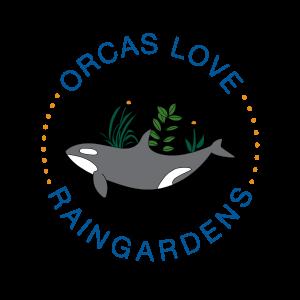 Orcas Love Rain Gardens logo